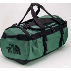 The North Face Base Camp Duffel - M tmavě zelená