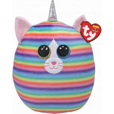 Ty Squish-a-Boos HEATHER, 30 cm - cat with horn (1)