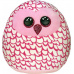 Ty Squish-a-Boos PINKY, 22 cm - pink owl (1)