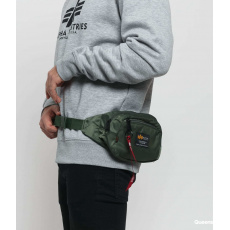 Alpha Industries Crew Waist Bag olivová