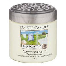 Yankee Candle voňavé perly Spheres Clean Cotton