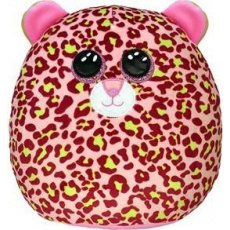Ty Squish-a-Boos LAINEY, 22 cm - pink leopard (1)