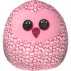 Ty Squish-a-Boos PINKY, 30 cm - pink owl (1)