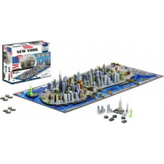 4D PUZZLE Cityscape Time panorama New York - II. jakost